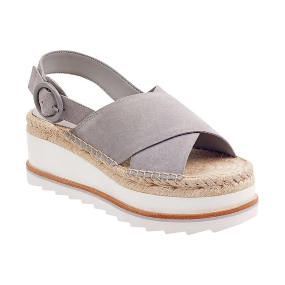 a04070d7726 Marc Fisher LTD Glenna Espadrille Platform Sandals.  M 5b6fa1b84cdc306bac22f9a5